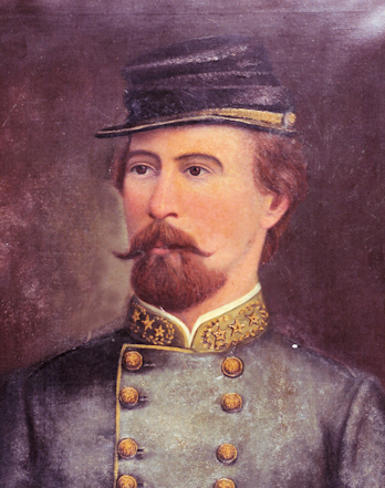 This portrait originally hung above the mantle at Woodville. It is now in the collection of the Virginia Museum of the Confederacy.